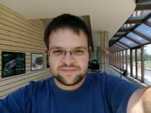 Testing the selfie autofocus - f/2.0, ISO 113, 1/288s - Nokia 3 review