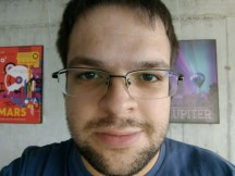 Testing the selfie autofocus - f/2.0, ISO 219, 1/25s - Nokia 3 review
