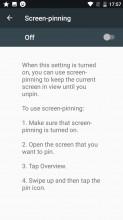 Screen pinning - Nokia 3 review