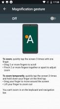 Gestures - Nokia 3 review