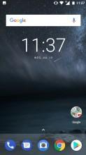 Home screen - Nokia 5 review