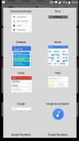 Adding a widget - OnePlus 5 review