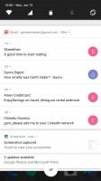 Notification shade: Unbundled notifications - OnePlus 5 review