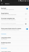 Lots of customization options for the various inputs - OnePlus 5 review