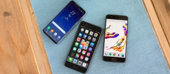 OnePlus 5 vs. iPhone 7 Plus vs. Samsung Galaxy S8: Flagships unfazed