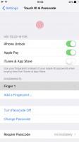 Apple iPhone 7 Plus user interface: Touch ID setup - OnePlus 5 vs. iPhone 7 Plus vs. Samsung Galaxy S8