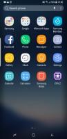 Samsung Galaxy S8 user interface: App drawer - OnePlus 5 vs. iPhone 7 Plus vs. Samsung Galaxy S8
