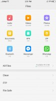 File manager - Oppo F3 review