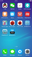 no app drawer - Oppo R11 preview