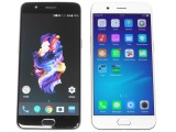 Oppo R11 next to the OnePlus 5 - Oppo R11 review