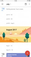The Calendar app - Oppo R11 review