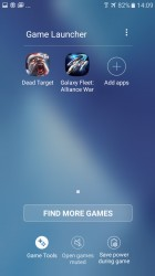 Game launcher - Samsung Galaxy A3 (2017) review