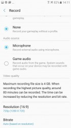 Camera and mic settings - Samsung Galaxy A3 (2017) review