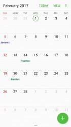 Calendar - Samsung Galaxy A3 (2017) review
