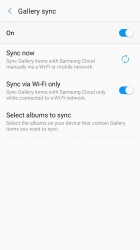 Gallery: Sync settings - Samsung Galaxy A3 (2017) review