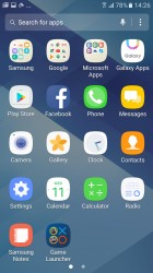 App drawer - Samsung Galaxy A3 (2017) review