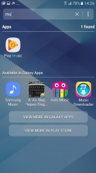 Search results from Galaxy Apps - Samsung Galaxy A3 (2017) review
