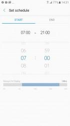 Schedule - Samsung Galaxy A3 (2017) review