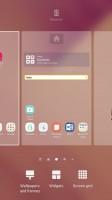Homescreen settings - Samsung Galaxy A7 (2017) review