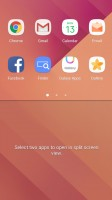 Multi-window multi-tasking - Samsung Galaxy A7 (2017) review