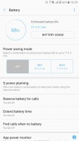 Device maintenance options - Samsung Galaxy C7 Pro review