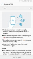 Opera Max integration - Samsung Galaxy C7 Pro review