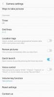 Camera app - Samsung Galaxy C7 Pro review