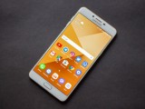 Front - Samsung Galaxy C9 Pro review