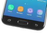 Home button and capacitive keys - Samsung Galaxy J5 (2017) review