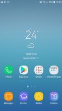 Home screen - Samsung Galaxy J5 (2017) review