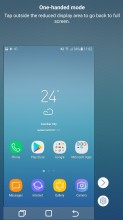 One-handed mode - Samsung Galaxy J5 (2017) review