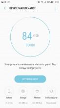 Device maintenance - Samsung Galaxy J5 (2017) review