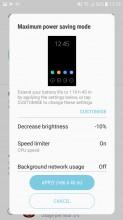 Battery saving modes - Samsung Galaxy J5 (2017) review