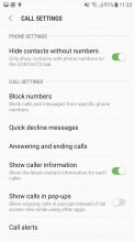 Settings - Samsung Galaxy J5 (2017) review
