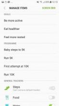 Samsung Health - Samsung Galaxy J5 (2017) review