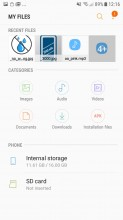 My Files - Samsung Galaxy J5 (2017) review