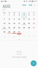 Calendar - Samsung Galaxy J5 (2017) review