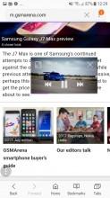 Video player - Samsung Galaxy J5 (2017) review