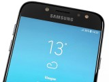 the front LED flash - Samsung Galaxy J7 (2017) review