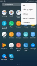 App drawer - Samsung Galaxy J7 (2017) review
