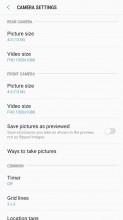 Pretty basic settings menu - Samsung Galaxy J7 (2017) review