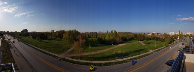 Panorama samples in both orientations - Samsung Galaxy S8+review