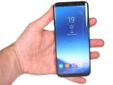 The Galaxy S8+ in the hand - Samsung Galaxy S8+review