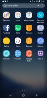 App drawer - Samsung Galaxy S8 review