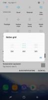 Notification shade: Toggle Layout - Samsung Galaxy S8 review