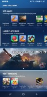Game launcher: Discover games - Samsung Galaxy S8 review