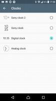 Clock styles - Sony Xperia XA1 Ultra review