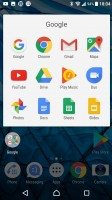 Folder view - Sony Xperia XA1 Ultra review