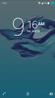 Lockscreen - Sony Xperia XA1 review