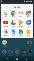 Folder view - Sony Xperia XA1 review